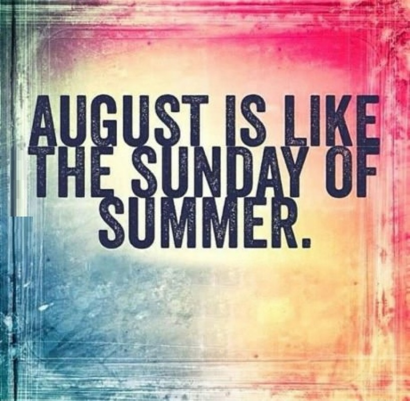 Image result for august the sunday of summer