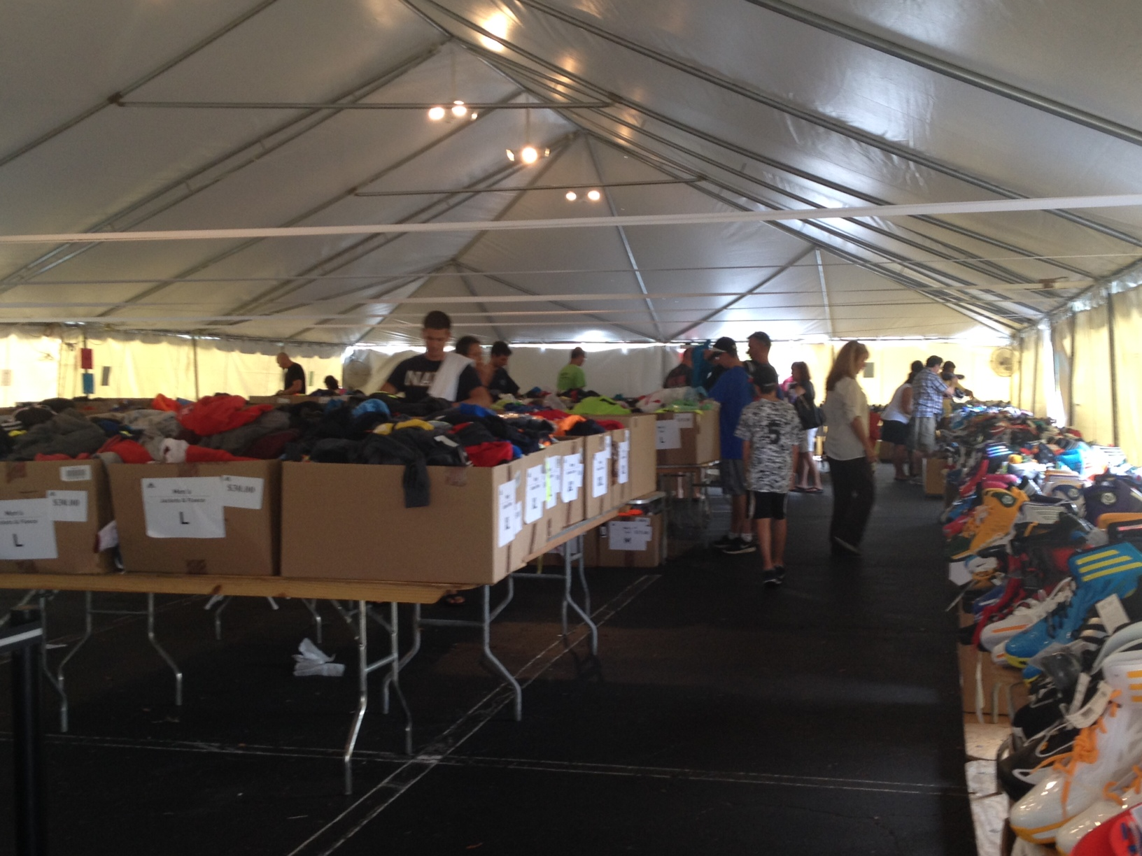 adidas giant tent sale