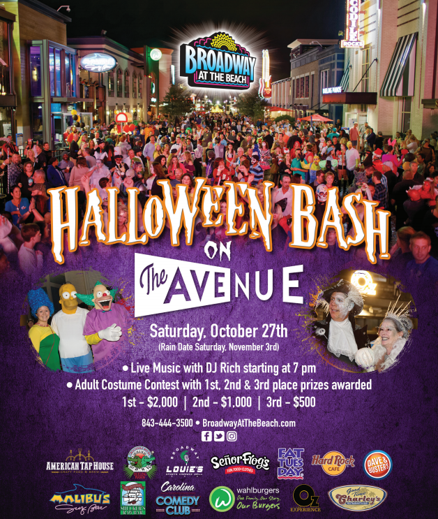 Pics From 2020 Broadway At The Beach Halloween Event Halloween Bash On The Avenue | Broadway at the Beach